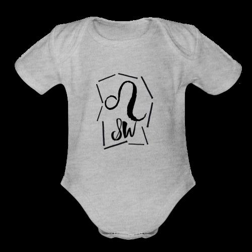 Signature Look - Organic Short Sleeve Baby Bodysuit