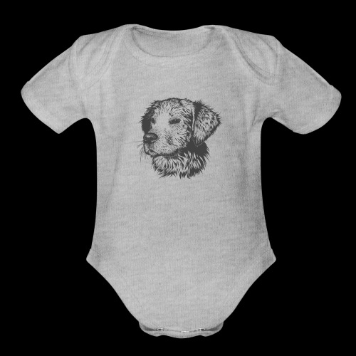 Doggo - Organic Short Sleeve Baby Bodysuit