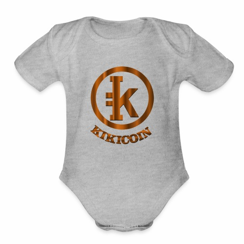 kikicoin new - Organic Short Sleeve Baby Bodysuit