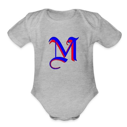 madMusic_Records - Organic Short Sleeve Baby Bodysuit