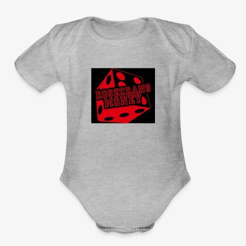 ROSECRANS MONEY - Organic Short Sleeve Baby Bodysuit