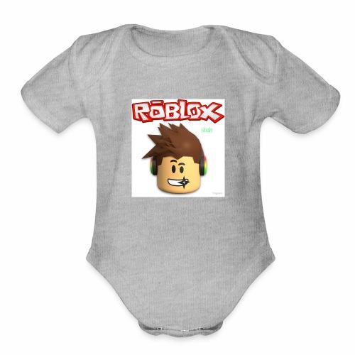 RobloxshahMearch - Organic Short Sleeve Baby Bodysuit