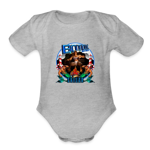 BOTOX MATINEE SAILOR T-SHIRT - Organic Short Sleeve Baby Bodysuit