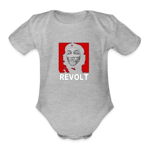 Anonymous Che Revolt Mugs & Drinkware - Organic Short Sleeve Baby Bodysuit