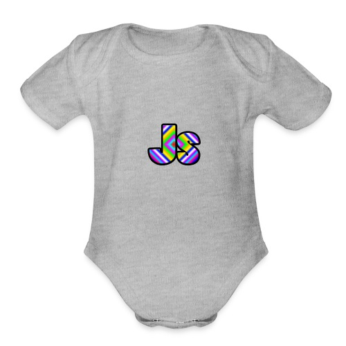 JsClanLogo2 - Organic Short Sleeve Baby Bodysuit