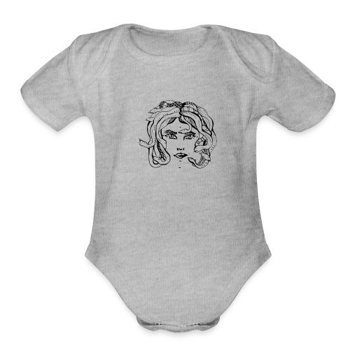 The Bite - Organic Short Sleeve Baby Bodysuit