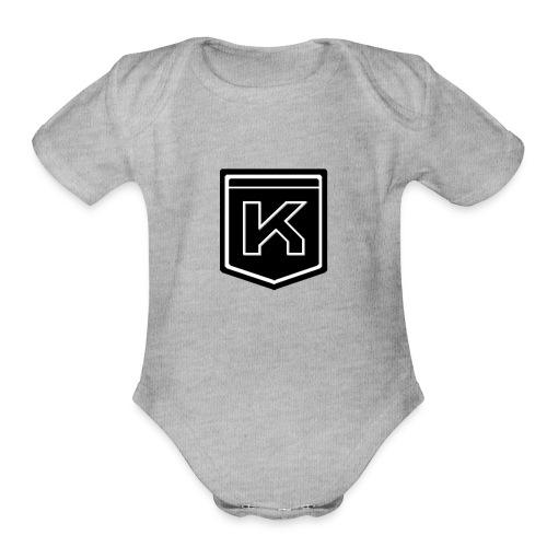 KODAK LOGO - Organic Short Sleeve Baby Bodysuit