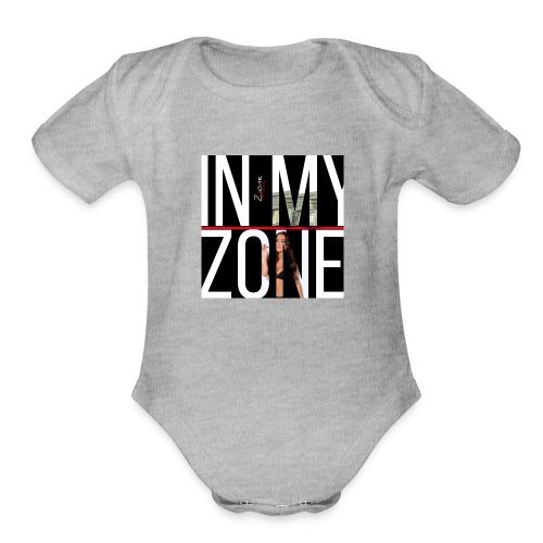 In The Zone - Organic Short Sleeve Baby Bodysuit
