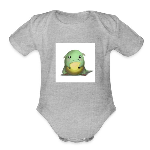 the 360 derp beast logo shirt for fans - Organic Short Sleeve Baby Bodysuit