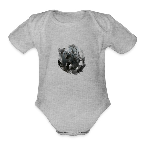 Vintage Reel Shirt - Organic Short Sleeve Baby Bodysuit