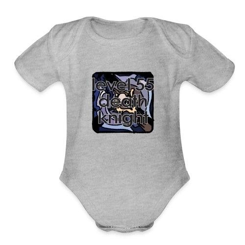 Warcraft Baby: Level 55 DK - Organic Short Sleeve Baby Bodysuit