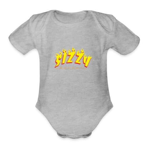 sizzyrocket - Organic Short Sleeve Baby Bodysuit