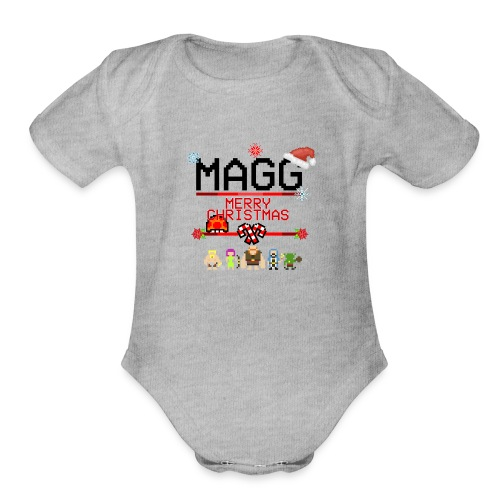 dise--o_kmisa - Organic Short Sleeve Baby Bodysuit
