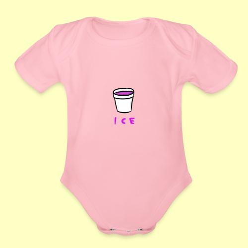 ICE - Organic Short Sleeve Baby Bodysuit