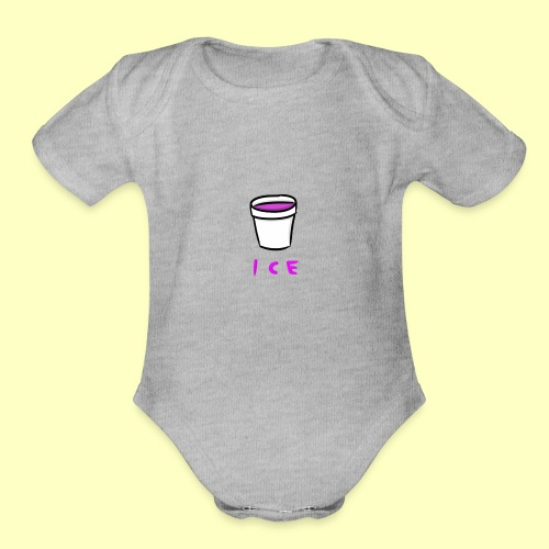 ICE - Organic Short Sleeve Baby Bodysuit