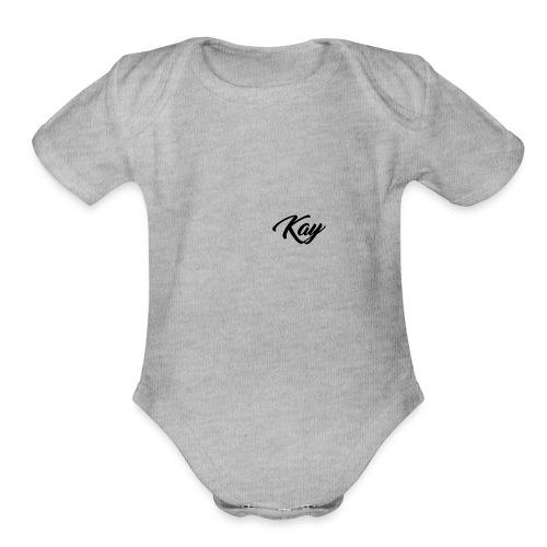 Kay Hoodie - Organic Short Sleeve Baby Bodysuit