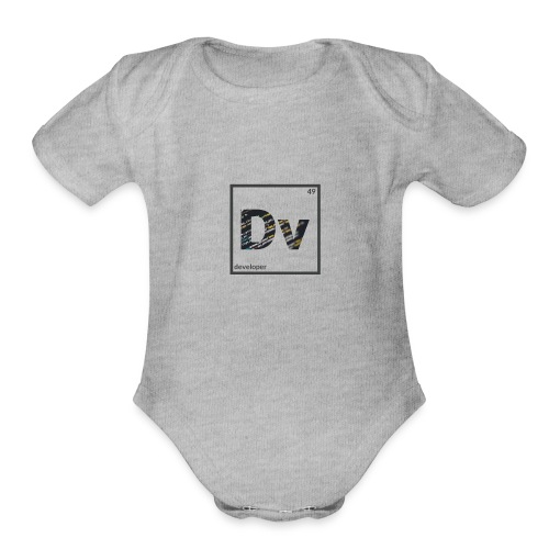Developer - Organic Short Sleeve Baby Bodysuit