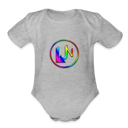 LJN_Logo - Organic Short Sleeve Baby Bodysuit