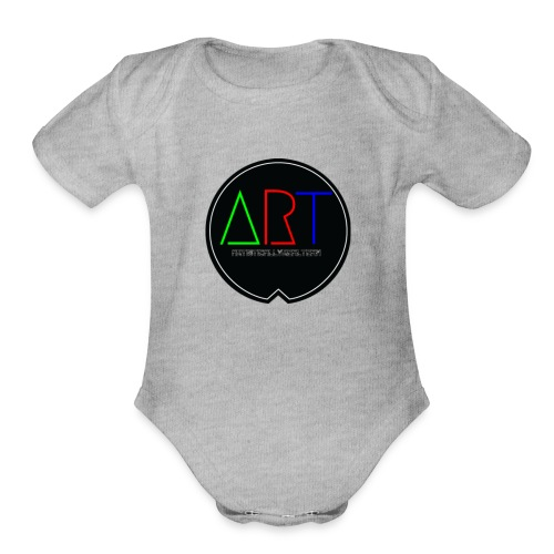 A.R.T MOVEMENT - Organic Short Sleeve Baby Bodysuit