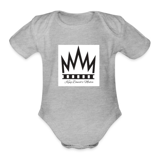 King David - Organic Short Sleeve Baby Bodysuit