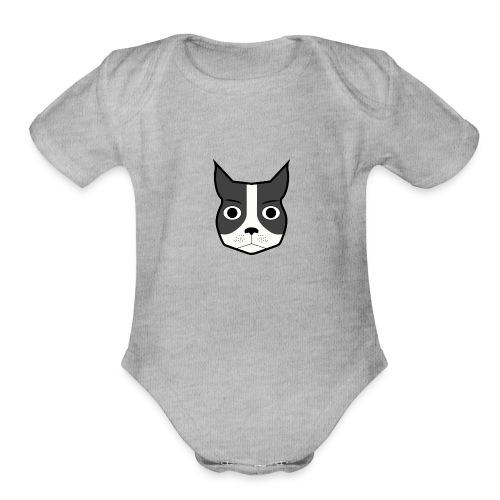 Boston Terrier - Organic Short Sleeve Baby Bodysuit