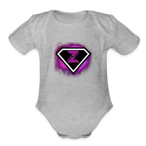 Zyanite Logo - YouTube - Organic Short Sleeve Baby Bodysuit