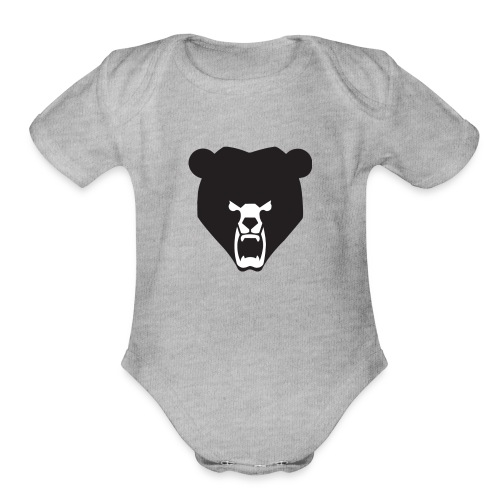 BeartheMLGpro Logo Collection - Organic Short Sleeve Baby Bodysuit