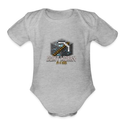 Miner Products - Organic Short Sleeve Baby Bodysuit