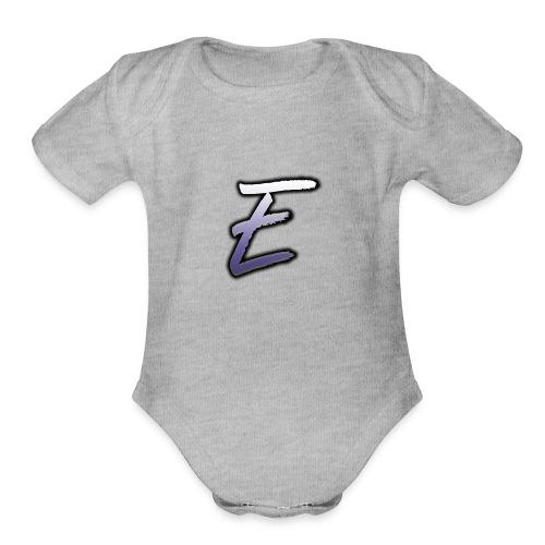 Effectro Mannie Logo - Organic Short Sleeve Baby Bodysuit