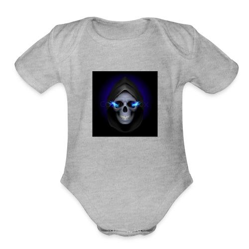 codz gming logo - Organic Short Sleeve Baby Bodysuit