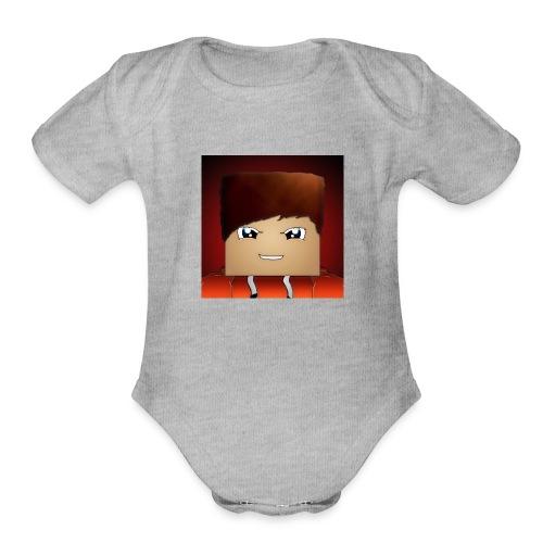 WolfGaming925 - Organic Short Sleeve Baby Bodysuit