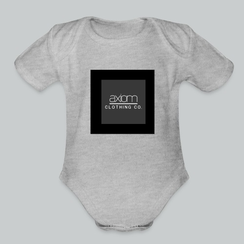 axiom - Organic Short Sleeve Baby Bodysuit
