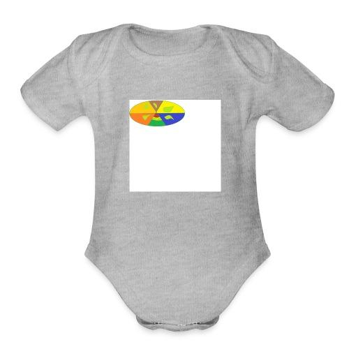 yyy - Organic Short Sleeve Baby Bodysuit