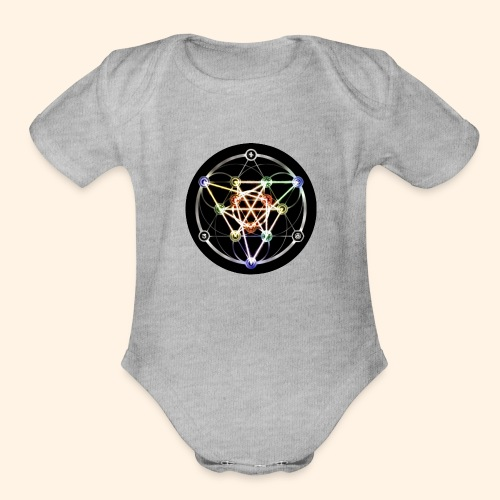 Classic Alchemical Cycle - Organic Short Sleeve Baby Bodysuit
