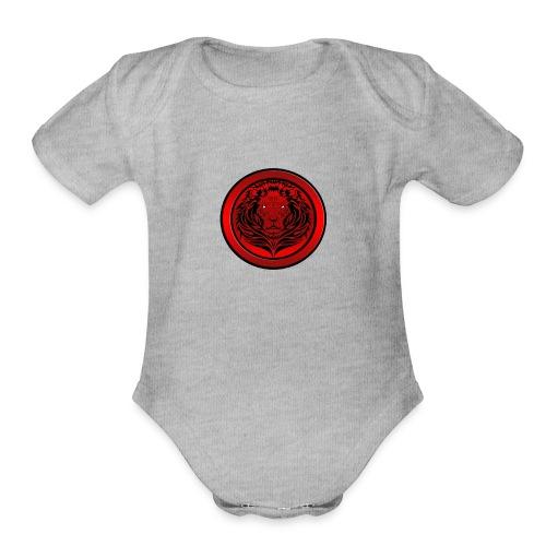 Acrosal Logo Tshirt - Organic Short Sleeve Baby Bodysuit