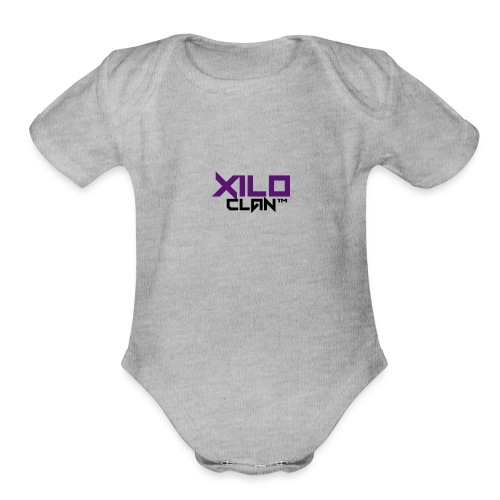 Official Xilo Clan™ - Organic Short Sleeve Baby Bodysuit
