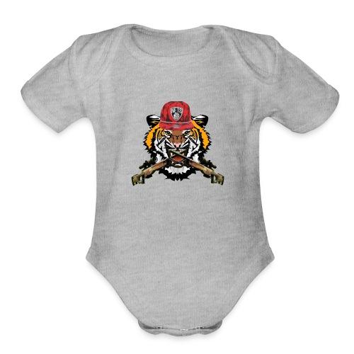 iceii apparel - Organic Short Sleeve Baby Bodysuit