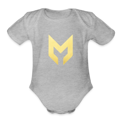 MizzMerch - Organic Short Sleeve Baby Bodysuit