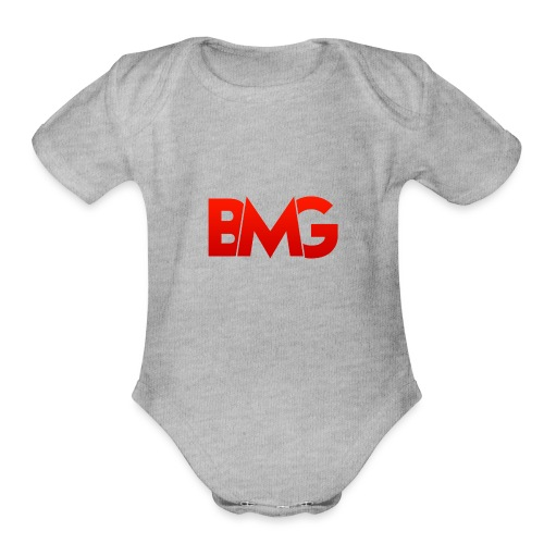 BMG Apparel - Organic Short Sleeve Baby Bodysuit