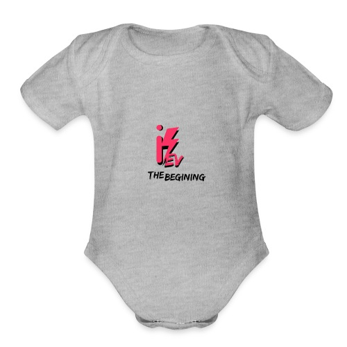 iKev: The Beginning - Organic Short Sleeve Baby Bodysuit