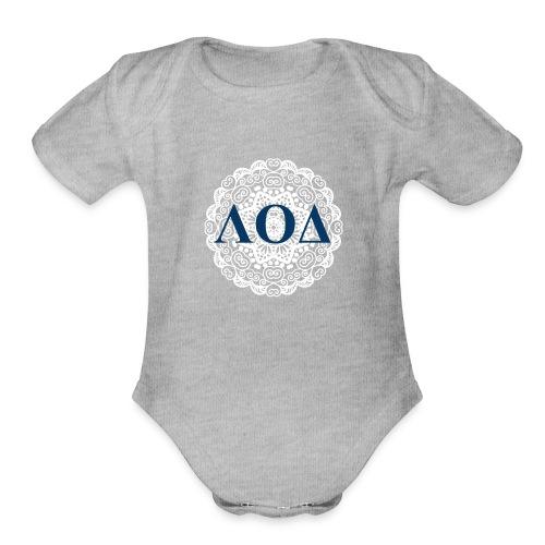 Mandala - Organic Short Sleeve Baby Bodysuit