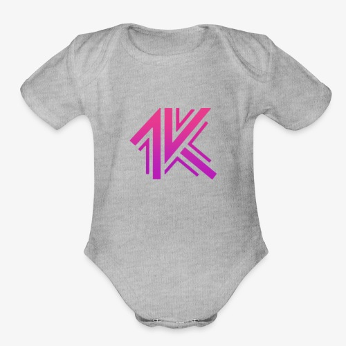 1k Rave in the Redwoods - Organic Short Sleeve Baby Bodysuit