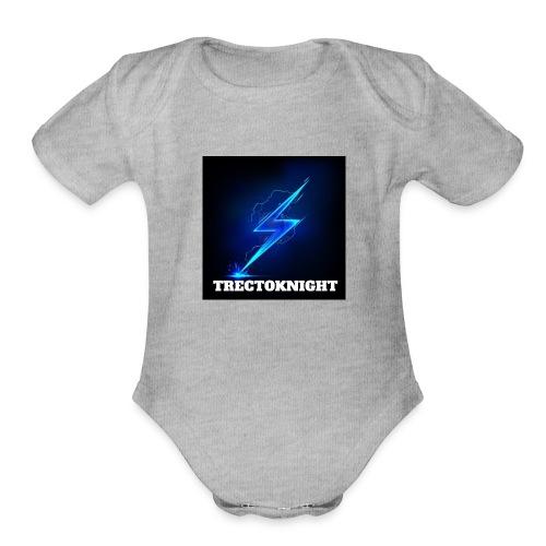 TRECTOKNIGHT - Organic Short Sleeve Baby Bodysuit