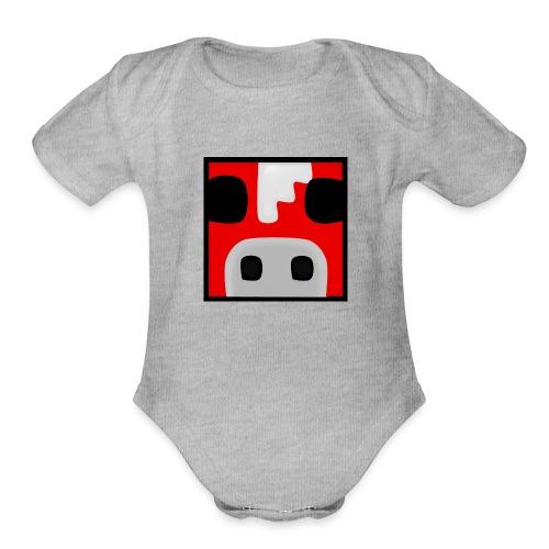 Mooshroom09 Stuff - Organic Short Sleeve Baby Bodysuit