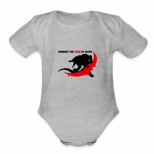 Renekton's Design - Organic Short Sleeve Baby Bodysuit