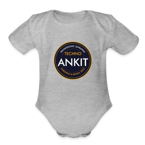 Techno AK - Organic Short Sleeve Baby Bodysuit