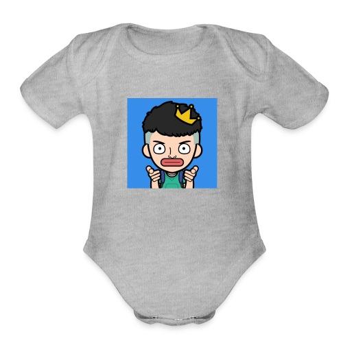 DGYT - Organic Short Sleeve Baby Bodysuit