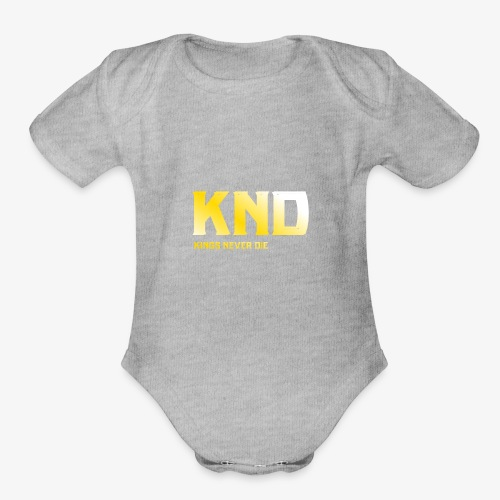 KND - Organic Short Sleeve Baby Bodysuit
