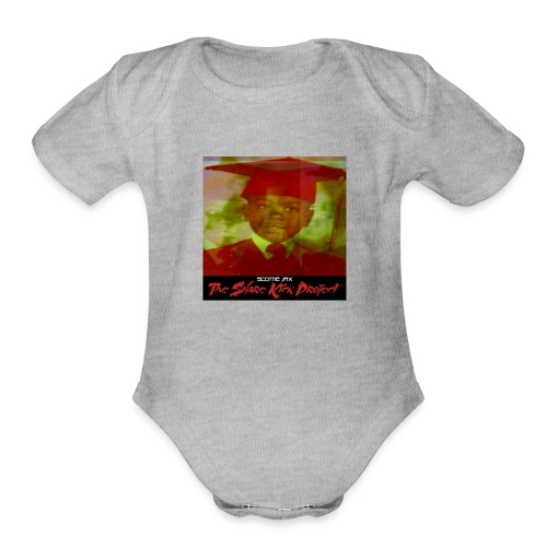 MIQUEL CHAPMAN The Snare Kick Projcect Album Cover - Organic Short Sleeve Baby Bodysuit