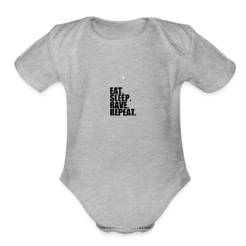ESRR - Organic Short Sleeve Baby Bodysuit